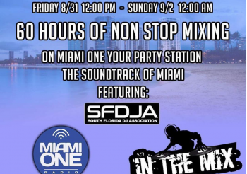 Labor Day Mix-A-thon Weekend  60 Hours