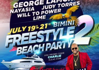 DJ LAZ – FREESTYLE BEACH PARTY 2