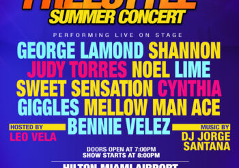 80's REUNION FREESTYLE SUMMER CONCERT!